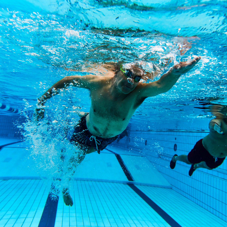 vrij bewegen in water